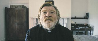Our Father: Brendan Gleeson gives a heavenly  performance as an Irish Catholic priest.