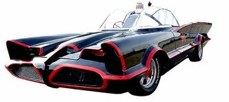 Three generations of the iconic Batmobile will be on display this weekend in a special tribute exhibit, including the original version from the '60s TV show.