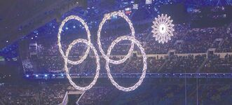 During the Sochi opening ceremonies, a giant snowflake that was supposed to morph into an Olympic ring failed to launch, leaving four rings of the iconic symbol dangling in mid-air.