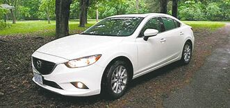 The Mazda6 is a great example of what is possible with current internal combustion techology.