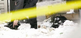 Ken Roulette, 28, is presumed innocent and has pleaded not guilty to counts of first-degree murder in connection with the vicious stabbing deaths of Mad Cowz street gang associates Jessie Henderson and Dennis Baptiste inside 729 Maryland St. early on Jan. 31, 2009.