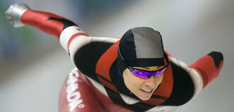 hannon Rempel skates to a disheartening 21st in the 1,000-metre long-track event in Richmond.