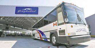 Greyhound Canada said in 2009 it would withdraw service from Manitoba because it couldn't profit under provincial regulations.