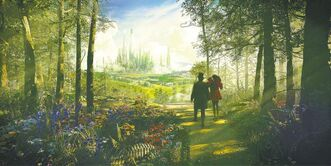 """OZ THE GREAT AND POWERFUL""  In Disney���s fantastical adventure ���Oz The Great and Powerful,��� Oscar Diggs (James Franco) and the witch Theodora (Mila Kunis) travel the Yellow Brick Road on their way to The Emerald City. The film, produced by Joe Roth, directed by Sam Raimi, written by Mitchell Kapner and David Lindsay-Abaire, stars James Franco, Mila Kunis, Rachel Weisz, Michelle Williams and Zach Braff.  ���Oz The Great and Powerful��� opens in U.S. theaters on March 8, 2013.  �� 2012 Disney Enterprises, Inc.  Katherine Monk for Postmedia News."