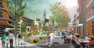 The Forks To Present preliminary concept plan. Artist rendering submitted to Winnipeg Free Press.