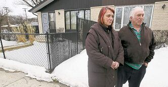 Barb and Raymond Korb wanted their neighbours' fence  taken down.
