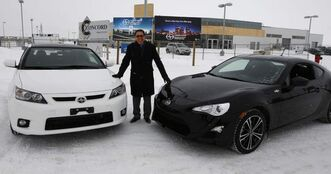 Ashok Dilawri is excited to be the city's first dealer for cars made by Toyota offshoot Scion. He's building a new dealership to house a combined Toyota-Scion store.