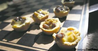 Delicious chess tarts