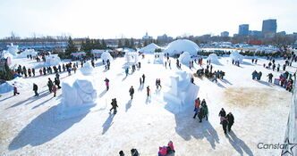 Visitors flocked to this year's Festival du Voyageur, which ran from Feb. 15 to 24, according to figures released by organizers.