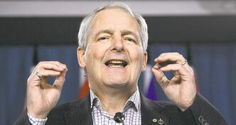 Liberal leadership hopeful Marc Garneau