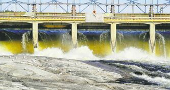 Even if the Pointe du Bois powerhouse is shut down, Hydro must still replace the aging spillway -- at a cost of $560 million.