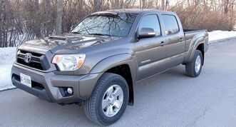 The Toyota Tacoma packs big-truck capability in a vehicle that doesn't take up the real estate of a larger truck.