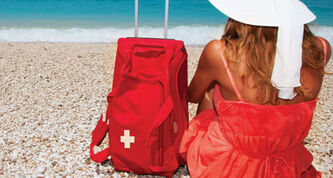 Whenever you're travelling outside Manitoba, pack some travel health insurance