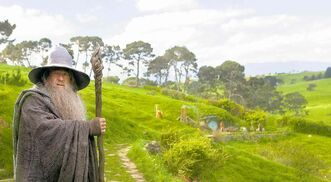 Ian McKellan as Gandalf