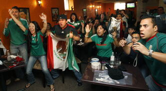 Restaurants in Winnipeg, such as La Bamba Restaurant, have seen an increase in traffic as soccer fans take extended lunch breaks to take in some World Cup action.