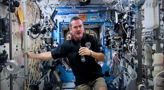 Canadian astronaut Chris Hadfield returns to earth today from commanding the International Space Station. His many tweets drew a social-media audience of hundreds of thousands.