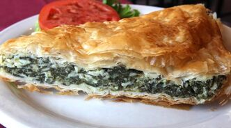 Spanakopita from Pappas Greek Food & Steak