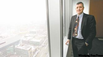 B.C.'s Scott Thomson will take over as Manitoba Hydro's new president and CEO.