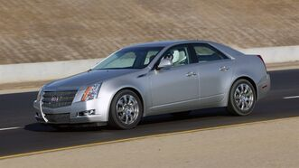 This undated photo provided by Cadillac shows the 2008 Cadillac CTS. THE CANADIAN PRESS/AP, Cadillac