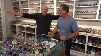 Actor Corbin Bernsen (left) and Extreme Collectors host Andrew Zegers are shown in a handout photo. n Hollywood, Corbin Bernsen is a man who has worn many hats. As an actor, he's been a soap opera priest, a grizzled retired cop, and a prima donna third baseman. And over the course of three decades in the industry, he's also been a director, a producer, a writer and - a snow globe collector? THE CANADIAN PRESS/HO