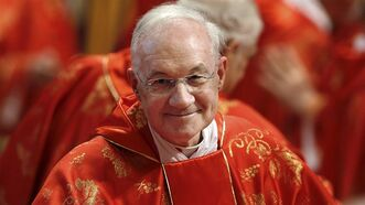 Canadian Cardinal Marc Ouellet in St. Peter's Basilica, at the Vatican, Tuesday, March 12, 2013. THE CANADIAN PRESS/AP, Andrew Medichini
