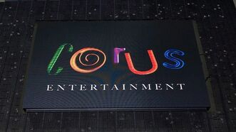 The Corus Entertainment logo is displayed durnig an event in Toronto, September 28, 2010. THE CANADIAN PRESS/Adrien Veczan