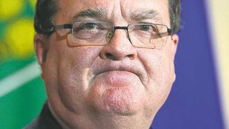 Finance Minister Jim Flaherty feels the pain.