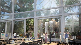 The Assiniboine Park Conservancy released details of the long-term Assiniboine Zoo and Park revitalization plan which includes a new conservatory (above).