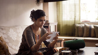 Nimrat Kaur plays Ila, an unhappy Mumbai housewife.