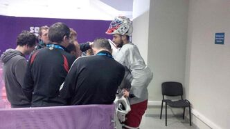 Ondrej Pavelec will not start in the Czech Republic men's hockey team's opening game of the Olympics against Sweden.