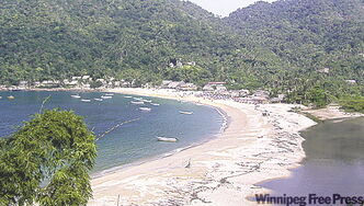 The beach at Yelapa, a 45-minute boat ride south of Old Vallarta, makes an interesting day trip.