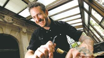 Bagshaw wasn't unhappy when the Free Press restaurant critic gave his Deseo eatery four stars.