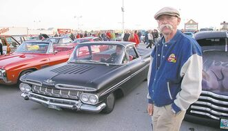 Pictured here on a visit to Winnipeg in 2010, Dennis Gage, the host of TVTVs My Classic Car, will be appearing next weekend at Piston Ring's annual World of Wheels car show.