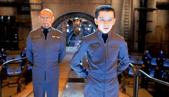 Asa Butterfield (right) and Sir Ben Kingsley in Ender�s Game. (Supplied photo)