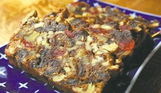 Brazil nut sensation fruit cake