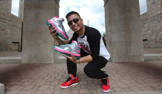 Frendell Cano founded the non-profit Winnipeg's Got Sole to promote the sneaker-freak subculture and give back to the community.