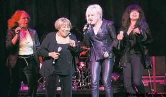 From left, Darlene Love, Mavis Staples, Cyndi Lauper and  Ronnie Spector.
