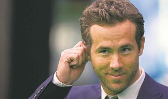 Actor Ryan Reynolds was born on Oct. 23, 1976.