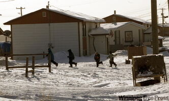 Pukatawagan, a Manitoba community where housing shortages are most acute.