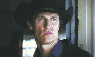 Matthew McConaughey as Killer Joe.