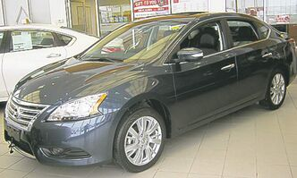 The new Sentra is also now in showrooms.