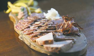 Peasant Cookery's charcuterie board is a bargain