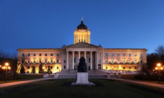Ghosts of the legislative building