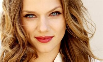 "Tracy Spiridakos stars in the NBC series, ""Revolution,"" airing Mondays at 10 p.m. EST. (Photo by Matt Sayles/Invision/AP)"