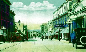 Downtown Brandon more than a century ago.