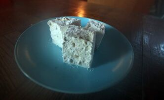 Toasted walnut maple marshmallows