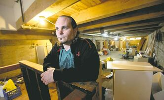 Kelly Hughes is hoping to soon move his bookstore into the basement of a Princess Street building.