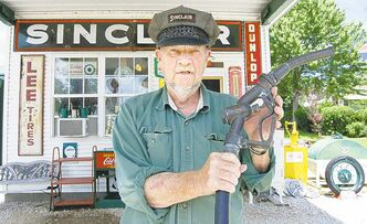 Self-proclaimed hillbilly Gary Turner owns gas-station-turned-souvenir-shop Gary's Gay Parida on Route 66 in Ash Grove, Mo.