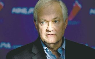 Donald Fehr, Executive Director of the NHLPA speaks to the press following collective bargaining talks in Toronto on Tuesday, October 16, 2012.