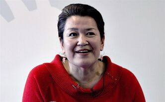 Greenland premier Aleqa Hammond, is pictured in Nuuk, Greenland on March 13, 2013. THE CANADIAN PRESS/AP, Polfoto/Jacob Ehrbahn